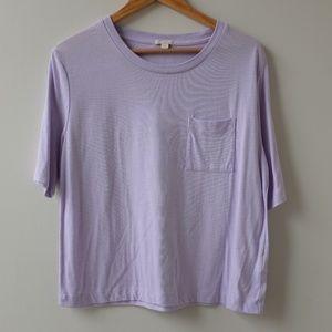 Bundle Only - Purple Gap Tee Shirt